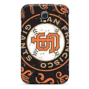 Scratch Protection Hard Cell-phone Case For Samsung Galaxy S4 With Support Your Personal Customized High-definition San Francisco Giants Series SherriFakhry