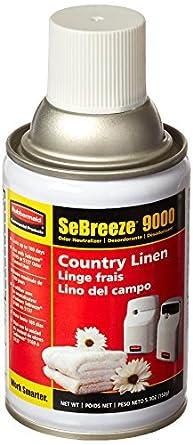 Rubbermaid Commercial FG5168000000 SeBreeze 9000 Aerosol Canister Refill for SeBreeze Odor Control Dispensers, 6-Pack of Assorted Fragrances