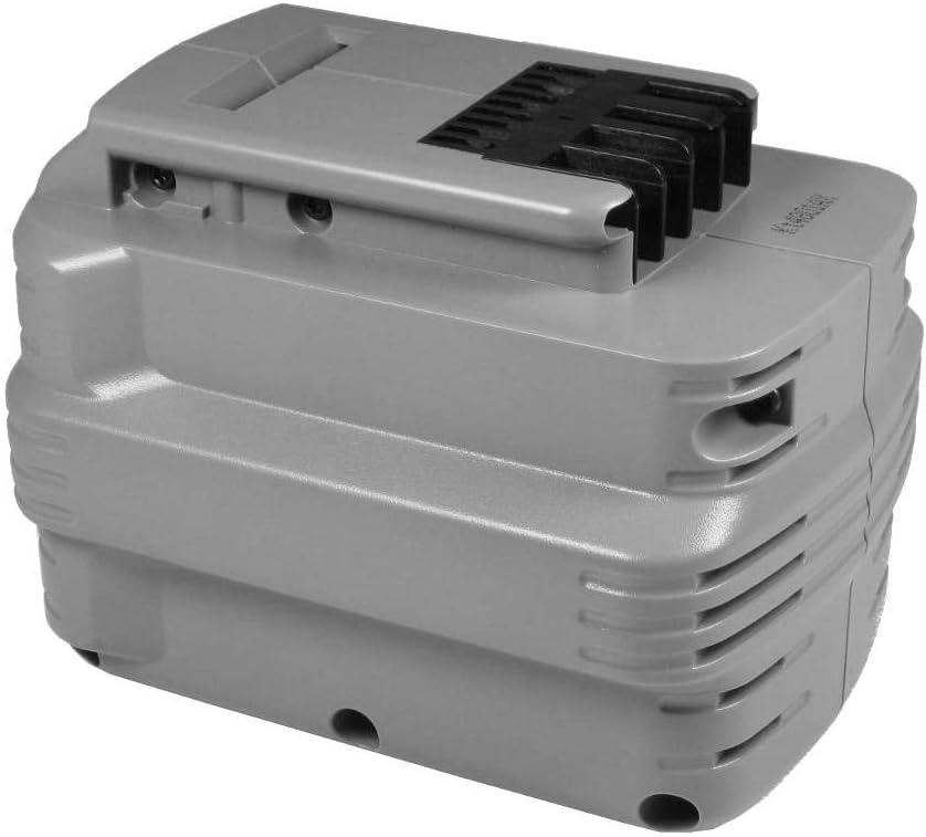 Trade-Shop–Batería de Ni-Mh 24V/3300mAh sustituye a la Dewalt DE0–240DE0–240de XJ DE0–241DE0–242de de 0243de de 0243de XJ DW de 0240DW de 0241DW de 0242DW de 0242de XRP DW de 024