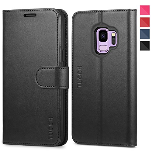 Galaxy S9 Case, Samsung S9 Wallet Case, TUCCH [Credit Card Holder] [Book] [Flip] [Slim] [Stand] PU Leather Phone Case [TPU Interior Protective Case] [Magnetic Closure] for Galaxy S9, Black Review