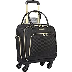 Aimee Kestenberg Florence Collection 4-Wheel Under-Seat / Carry-On (Black)