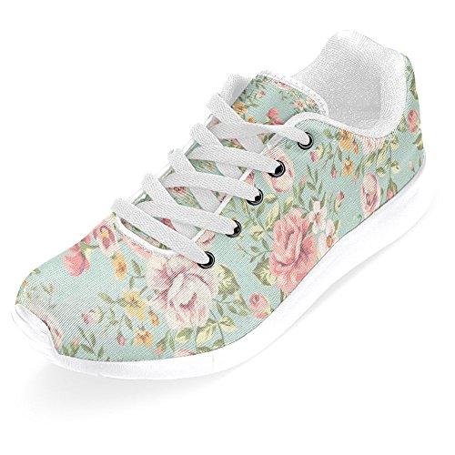 Comfort Running Womens Walking Jogging Multi Easy Sneaker Go Running 7 Shoes Lightweight InterestPrint Casual aT6wxfz
