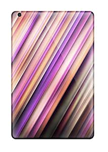 HNgpmDl9178PXCIp Case Cover Protector For Ipad Mini/mini 2 Bright Pink Purple Diagonal Lines Case