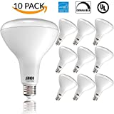 Sunco Lighting 10 PACK - BR40 LED 17WATT (100W Equivalent), 5000K Daylight, DIMMABLE, Indoor/Outdoor Lighting, 1400 Lumens, Flood Light Bulb- UL & ENERGY STAR LISTED