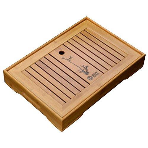 Solid Wood Tea Tray Tea Set Chinese Kung Fu Tea Set-#B by FANCY PUMPKIN