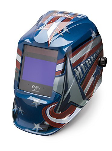 Lincoln Electric VIKING 2450 All American Welding Helmet with 4C Lens Technology - K3174-3