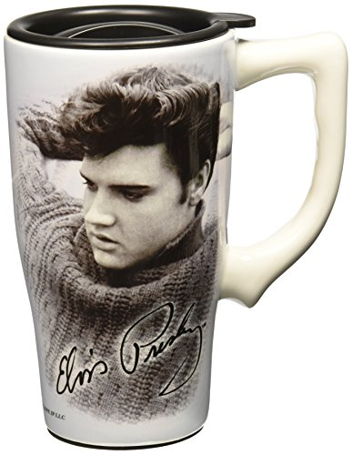 Spoontiques Elvis Legend Travel Mug, -