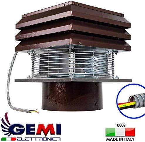 Extractor de humo Extractores de humo para chimeneas para barbacoa Aspirador de humos para chimenea extractor de chimenea Gemi Elettronica Modelo Base Redondo de 30 cm: Amazon.es: Bricolaje y herramientas