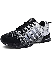 351580405858d2 Mens Running Shoes Trail Fashion Sneakers Tennis Sports Casual Walking  Athletic Fitness Indoor and Outdoor Shoes