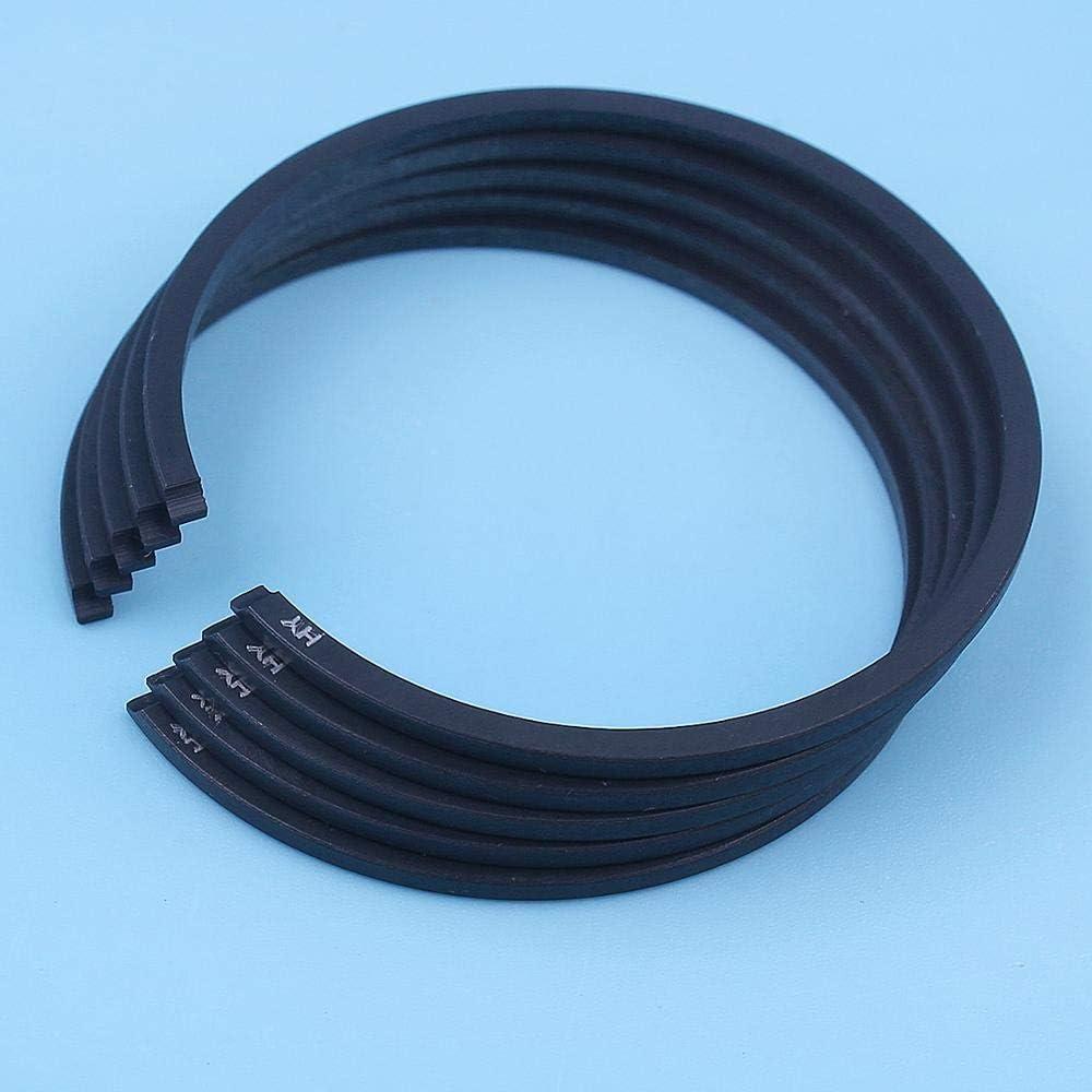 Corolado Spare Parts 39mm X 1.5mm Piston Rings for Husqvarna 235 236 240 235E 236E 240E Chainsaws Replacement Spare Parts 5Pcs//Lot