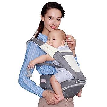 Amazon.com: bebamour – Fular portabebés Carrier Ergonomía ...