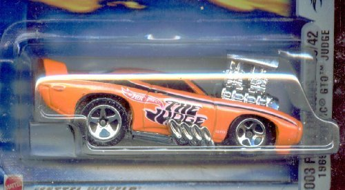 hot-wheels-2003-045-first-edition-33-42-1969-pontiac-gto-judge-highway-35-card-164-scale-164-scale