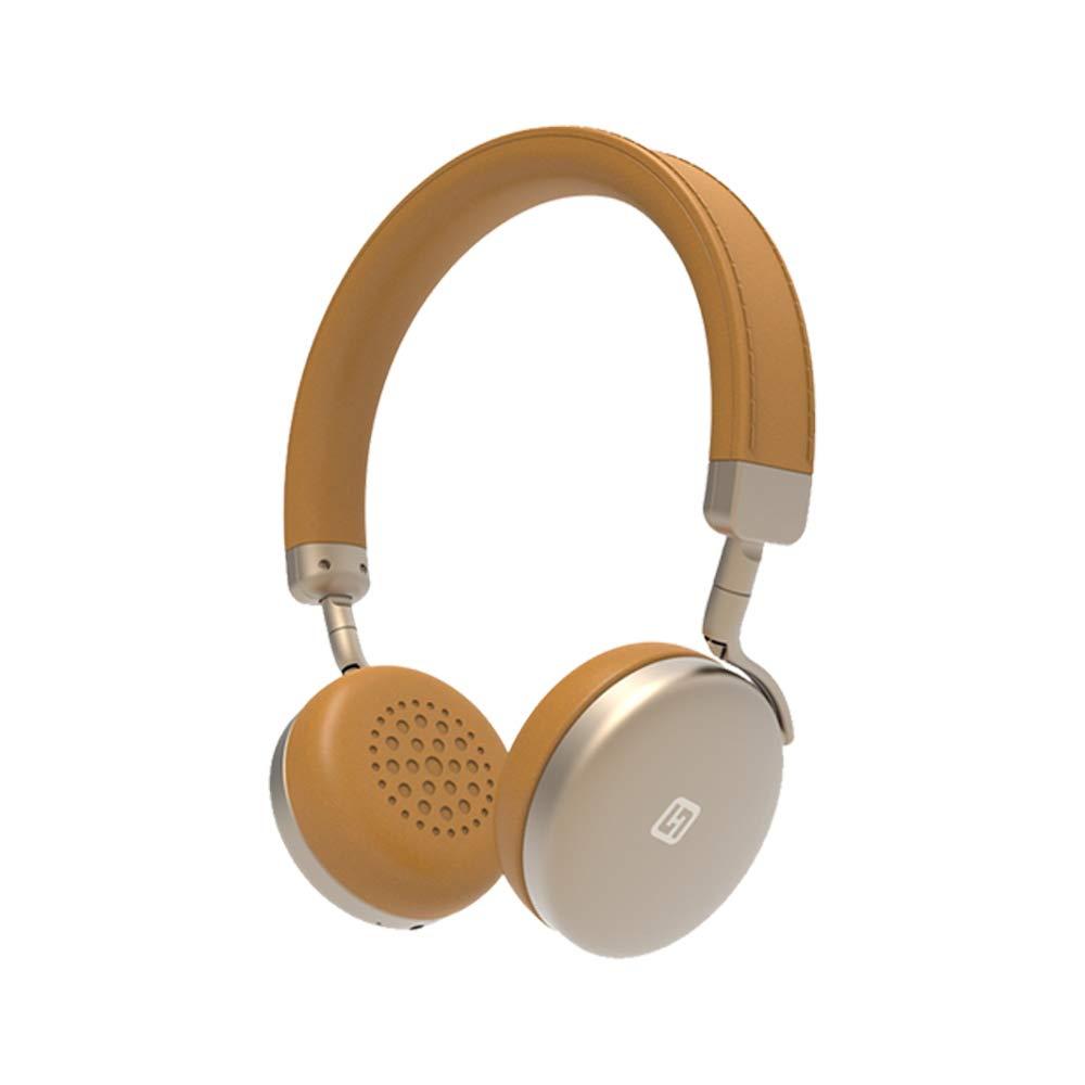 BANNAB Stereo Auricolare Bluetooth Cuffia HD Music Headset con 3,5 millimetri Jack Dimensioni Regolabile Adatto per Ragazza, Ragazzo, Cellulare,Black