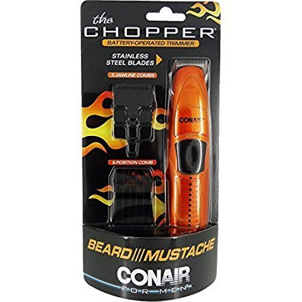 Conair The Chopper Battery Operated Beard Mustache Trimmer Trimmer