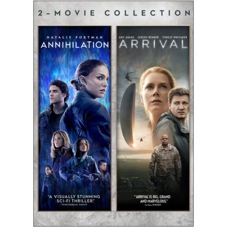 Blu-ray : Annihilation / Arrival Double Feature (2 Pack, Widescreen, Dolby, AC-3, Dubbed)