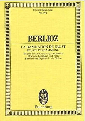 The Damnation of Faust, Op. 24 (Schott)