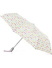 Auto Open Umbrella with NeverWet, White Rain