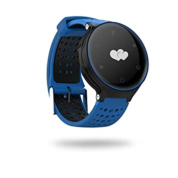 Microwear X2 Montre Connectée Cardiofréquencemètre, Montre Sport Fitness Tracker dActivité Smartwatch, Bluetooth