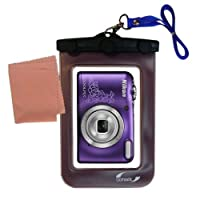 Lightweight Underwater Camera Bag suitable for the Nikon Coolpix L30 / L29 Waterproof Protection