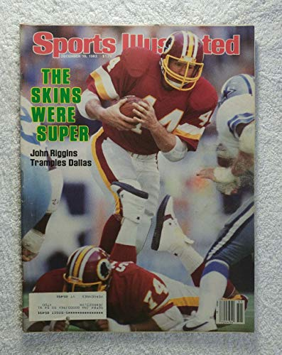 John Riggins - Washington Redskins - Sports Illustrated - December 19, 1983 - SI