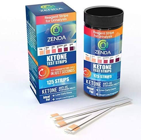 Ketone Strips - Perfect Ketogenic Supplement to Measure Ketones in Urine & Monitor Ketosis for Keto Diet, 125 Urinalysis Test Strips 4