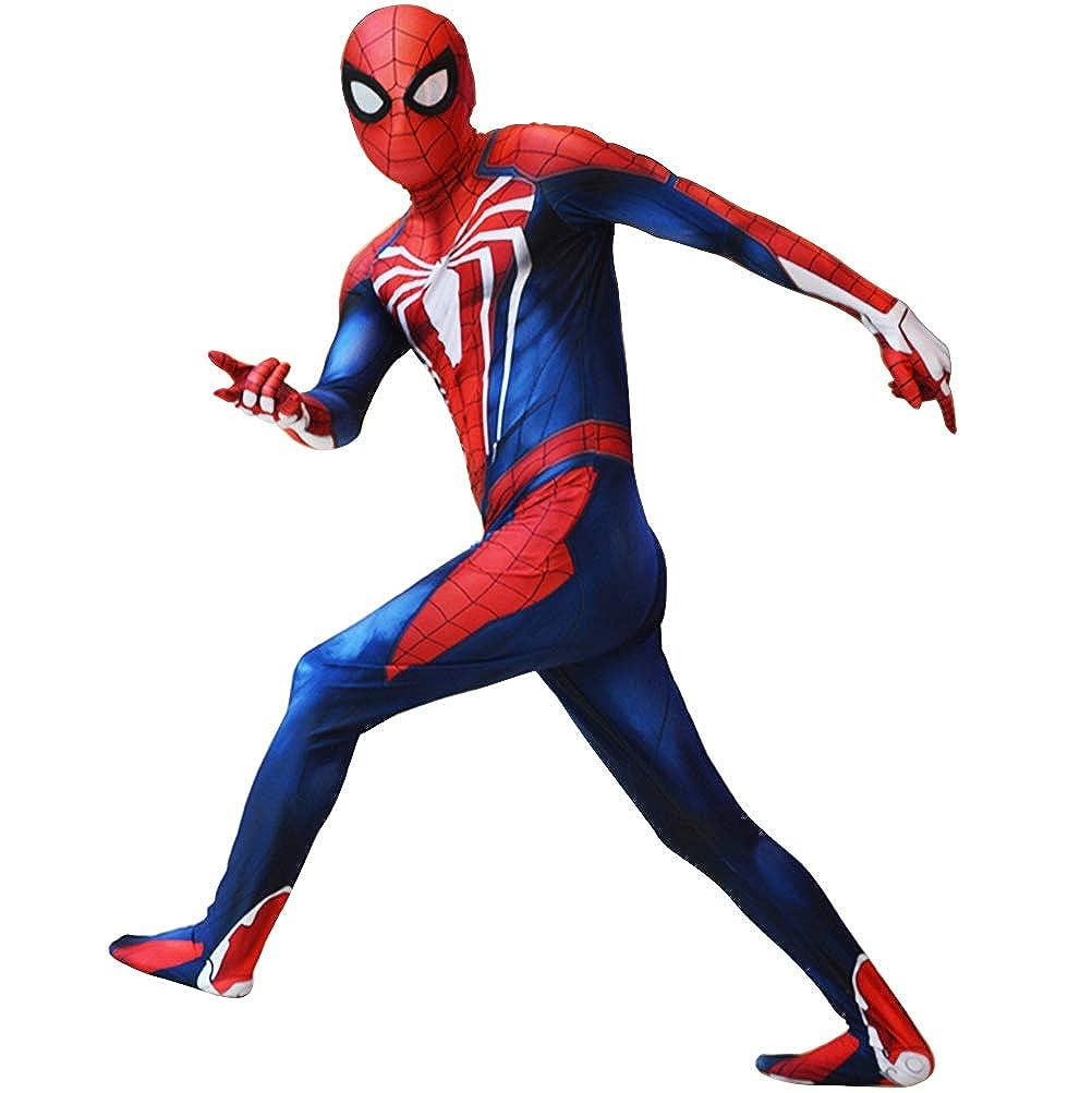 Amazon.com: Disfraz de Spiderman PS4, Traje de Spider-Man de ...