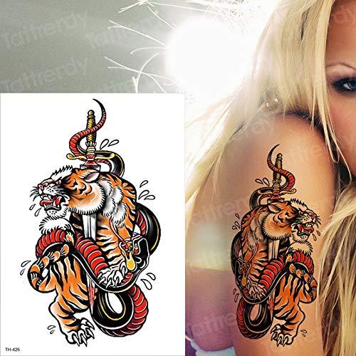 tzxdbh Etiqueta engomada a Prueba de Agua del Arte del Tatuaje ...