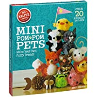 Libro Klutz para hacer tus propias mascotas de minipompones