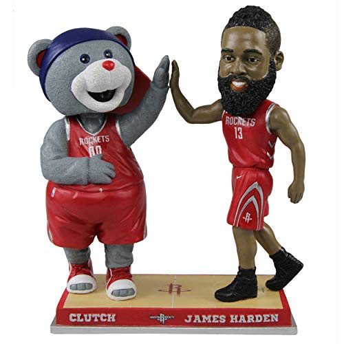 High Numbered - James Harden Houston Rockets High Fiving - Numbered to 1,000 Bobblehead NBA