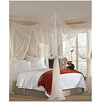 Majesty King Queen Bed Canopy  sc 1 st  Amazon.com & Amazon.com: Majesty King Queen Bed Canopy: Home u0026 Kitchen