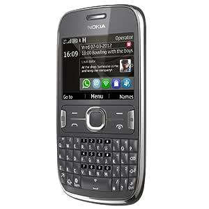 """Nokia Asha 302 - Móvil libre (pantalla de 2,4"""", cámara 3.2"""