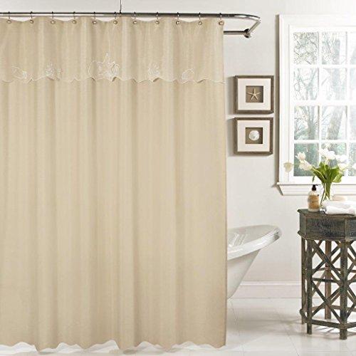 "Lorraine Home Fashions Sanibel Shower Curtain, 70 x 72"", San"