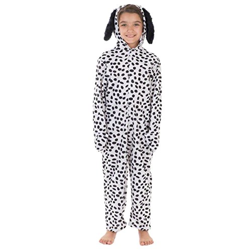Dalmation Puppy Dog Costumes (Dalmatian Lite Costume for Kids 6-8 Yrs)