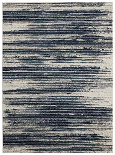 - Diagona Designs Contemporary Modern Stripes Design Area Rug, 94