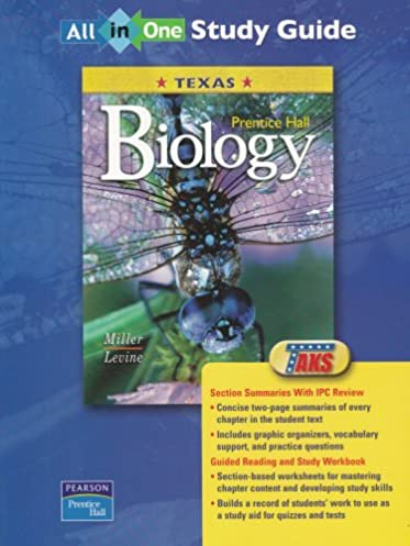 amazon com prentice hall biology texas all in one study guide rh amazon com Prentice Hall Biology Textbook 2013 Prentice Hall Biology Animal Cell