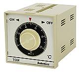 Autonics TOM-P3SJ4C Temp Control, Analog, DIN W72XH72mm, Proportional, SSR Out, J Thermocouple, 400 C, 110 & 220 VAC