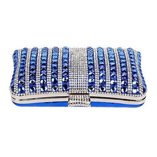 Fête Femme à Pochette D'embrayage Clutch Sac Red Cristal Diamant Bourse Gland Prom Robe Main Mariage Sac Soirée 11rpvq