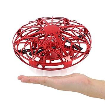 NUOCAI UFO Drone Toy UFO Flying Toys Detección de Gestos Aviones ...