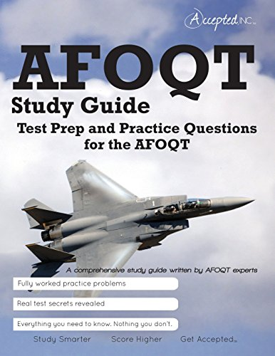 Pdf Test Preparation AFOQT Study Guide: Test Prep and Practice Questions for the AFOQT Exam