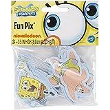 Wilton 2113-5131 SpongeBob SquarePants Fun Cupcake/Cake Pix, 24-Pack