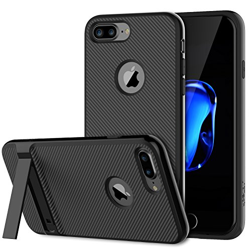 JETech Slim-Fit iPhone 7 Plus Case Cover with Microfiber and Self Stand for Apple iPhone 7 Plus 5.5