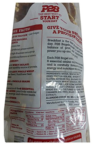 Combo Value Pack: P28 High Protein Sandwich Bread, Bagels, and Wraps, Includes 7 Day Clean Eating/High Protein Meal Plan E-Book by P28 (Image #3)