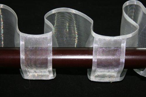 Serpentine Translucent Tape - 6 (Tab Drapery)