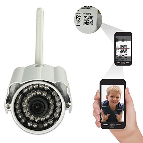 Lightinthebox Sricam New HD 720P Wireless Waterproof Outdoor IR P2P IP Camera