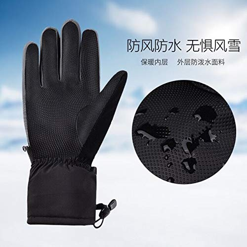 Winter Gloves, Ski/Snowboard Gloves, -20℉ Cold Insulated, Waterproof Windproof Thermal Hand Gloves for Snow Work and Outdoor Sports Skiing, Snow Playing, Motorcycling, Camping, Hiking, Men/Women
