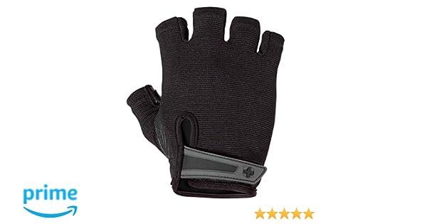 Harbinger Power Lifting Glove 1//2 Finger Black 15520 Medium