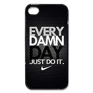 Nike Every Damn Day #6 iPhone 5 5s Black Cell Phone Case