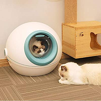 Inodoro WC para Gatos Mod. Aseo Gato Arenero Sanitaria Cerrado ...