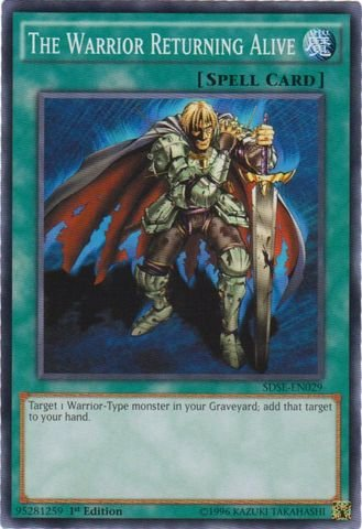 Alive Trading Cards - Yu-Gi-Oh! - The Warrior Returning Alive (SDSE-EN029) - Structure Deck: Synchron Extreme - 1st Edition - Common