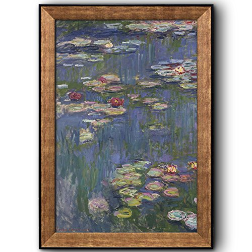 Water Lilies by Claude Monet Framed Art